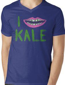 I Heart Kale Mens V-Neck T-Shirt