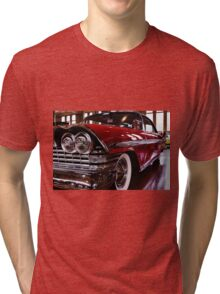 Red Plymouth Fury. Tri-blend T-Shirt