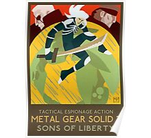 Metal Gear Solid 2: Sons of Liberty Poster