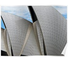 curved roof Poster