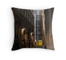 city by night Throw Pillow