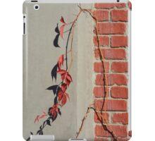 Urban Red Wall Vine iPad Case/Skin