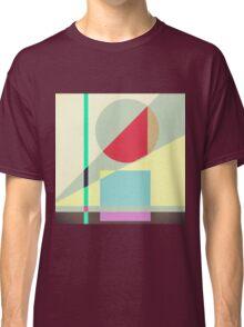 Modern Abstract Geometrical Print Classic T-Shirt