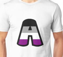 LGBT Alphabet - A (Asexual) Unisex T-Shirt