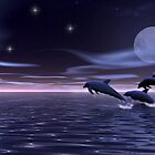 Dolphin Moon by Walter Colvin