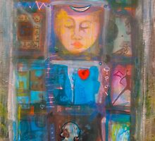Blue Buddha by Fran Riley
