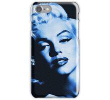 Blue Marilyn Monroe iPhone Case/Skin