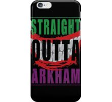 Straight Outta Arkham iPhone Case/Skin