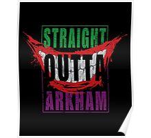 Straight Outta Arkham Poster