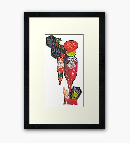 The Mystical Bloody Mary Framed Print