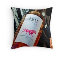 Bull Paddock Wines Sangiovese Rose Throw Pillow