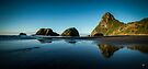 Sugar loaf Islands, New Plymouth - NZ by Dean Mullin