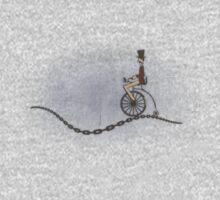 Ordinary Bicycle Man Kids Tee