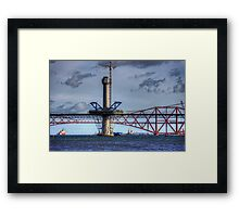 New Forth Crossing - 2 March 2015 Framed Print