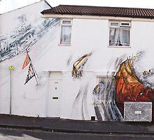 Bristol mural by KA'a Art