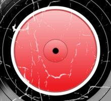 Vinyl Record 2 Worn Well (please see notes) Sticker
