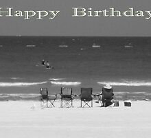 "BRIGHTON BEACH South Australia - ""Happy Birthday"" Card by Sandy1949"