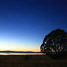 First Light over Lake George, NSW by Tim Coleman