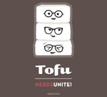 Tofu Nerds Unite! Kids Clothes