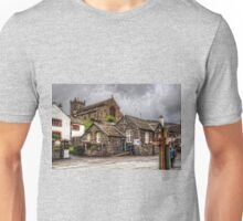 Hawkshead Village and Church Unisex T-Shirt