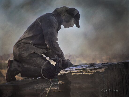 The sculptor by Jan Pudney