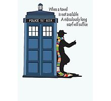Hitch-hiking Doctor Photographic Print