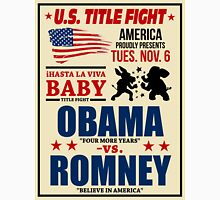President Election 2012 Poster Obama vs. Romney Unisex T-Shirt