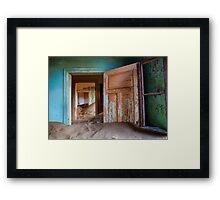 After the Sand Storms Framed Print