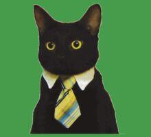 Business Cat Kids Tee