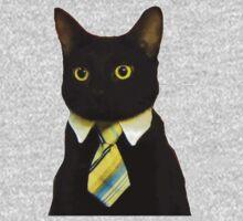 Business Cat Kids Clothes