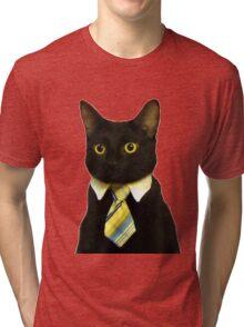 Business Cat Tri-blend T-Shirt