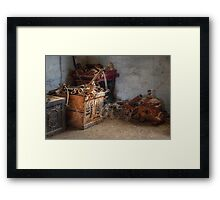 Wonderful bits and bobs ~ Monte Cristo, Junee NSW Framed Print