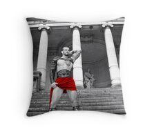 Stuart Reardon - Stadium God Throw Pillow