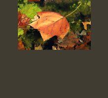 Fallen Maple Leaf in Pond Unisex T-Shirt