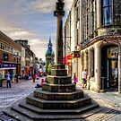 Dunfermline Mercat Cross by Tom Gomez