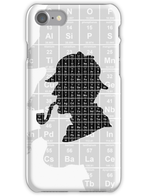 Sherlock 'Elementary' iPhone case by Neil Davies