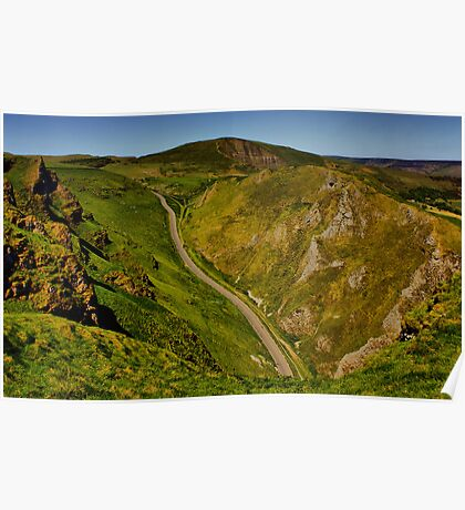 Mam Tor and Winnats Pass Poster
