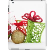 Christmas Ornaments Balls Gift Contemporary iPad Case/Skin
