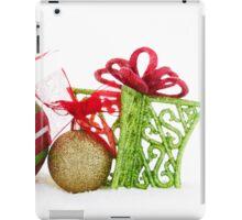 Christmas Ornaments Balls Gift Contemporary iPad Case/Skin