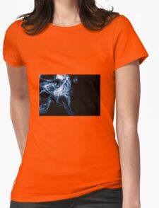 Smoke Womens Fitted T-Shirt