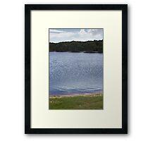 Lake by Layers - Lennox Head Framed Print