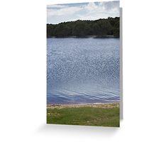 Lake by Layers - Lennox Head Greeting Card