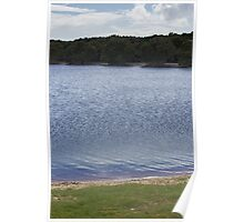 Lake by Layers - Lennox Head Poster