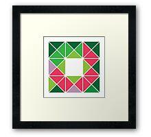 Design 17 Framed Print
