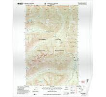 USGS Topo Map Washington State WA Frosty Creek 241236 2002 24000 Poster