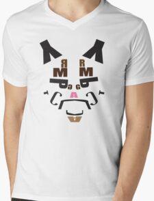 Spelling Grumpy Mens V-Neck T-Shirt