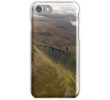 Pennines from the air. iPhone Case/Skin