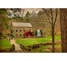 Wayside Grist Mill 2012 Photographic Print