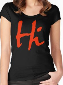Hi 2 Women's Fitted Scoop T-Shirt