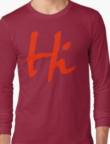Hi 2 Long Sleeve T-Shirt